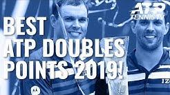 Best ATP Doubles Shots & Rallies In 2019!