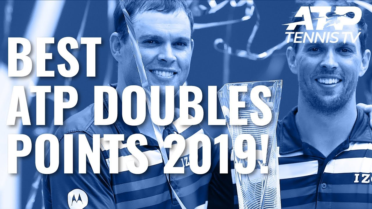 Best ATP Doubles Shots & Rallies In 2019!