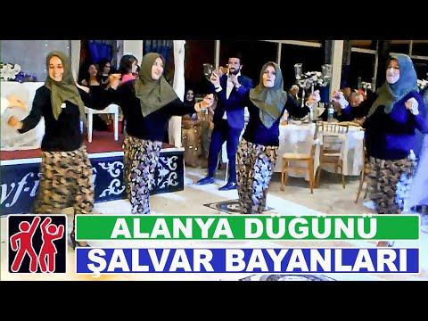 Türk düğün bayanlar salvarlı oyunu/ Turkish willage dance