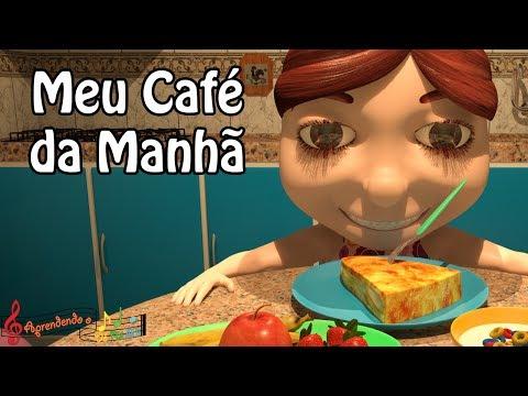 Meu Café da Manhã Música Infantil Original - Aprendendo o Dó Ré Mi