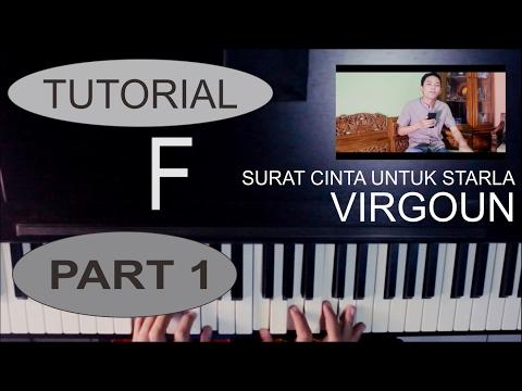 Tutorial Piano Lagu Surat Cinta Untuk Starla-Virgoun by Adi PART 1