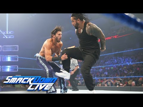 The Usos vs. Breezango - SmackDown Tag...