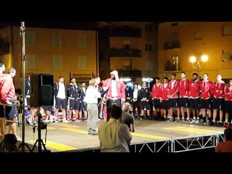 Festa biancorossa a Castelnovo Monti: Delroy James
