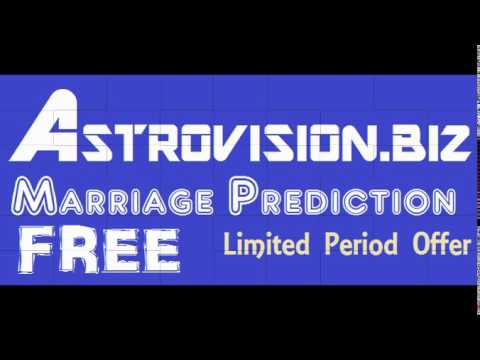 ASTROVISION MALAYALAM JATHAKAM MARRIAGE PREDICTION