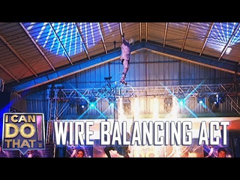I Can Do That Finale: Wire Balancing Act | Wacky Kiray