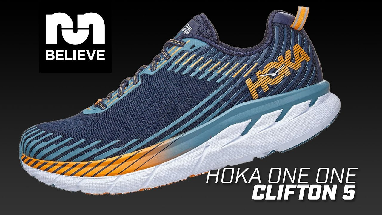 ee092a9f1ad Hoka One One Clifton 5 Video Performance Review - YouTube