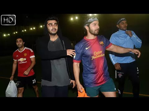 Ranbir, Varun, Arjun, Akash Ambani Play Football For a Cause | Bollywood Events