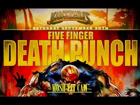 Five Finger Death Punch - LOUDER THAN LIFE 2017 -[FULL-SET!] 09/30/2017 MOSHPIT-CAM HD !