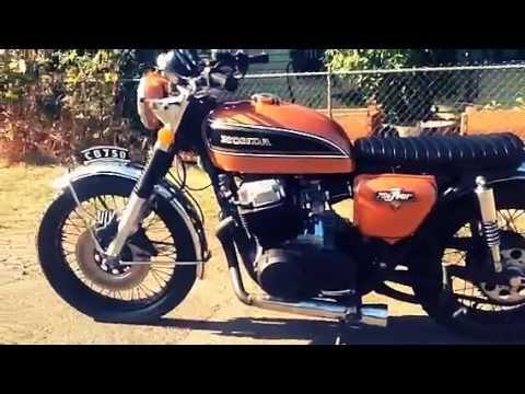 1974 cb750 brat style youtube 1974 cb750 brat style publicscrutiny Choice Image