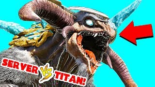 ENTIRE SERVER VS ICE TITAN IN ARK EXTINCTION! E14 (Ark Survival Evolved Extinction)