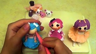 Куклы из мастики. Лепка. Лалалупси / How to make  lalaloopsy dolls(Лепка к предыдущему видео https://www.youtube.com/watch?v=0ZS65SUnaMI&t=413s., 2016-11-27T09:50:38.000Z)