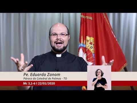 Minuto do Evangelho 22/01/2020 Catedral de Palmas
