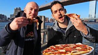 NYC's BEST Pizza Challenge:  Grimaldi's vs Juliana's ! ?