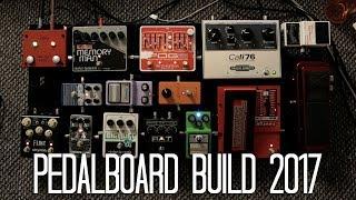 HarryAndAGuitar Pedalboard Build 2017
