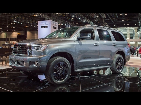 2018 Toyota Sequoia Trd Sport Exterior And Interior Youtube