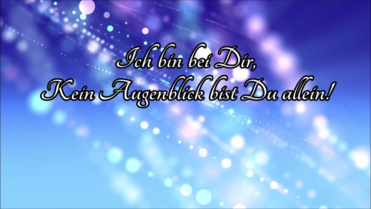 Ich Bin Bei Dir Andreas Volz Lyric Video Youtube