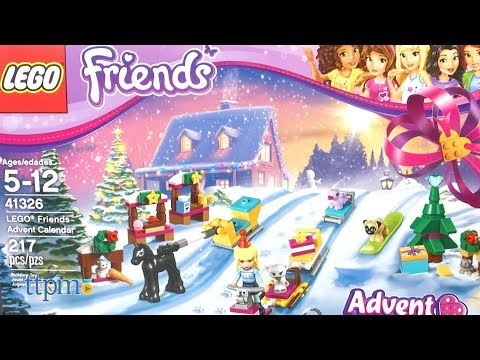 2017 LEGO Friends Advent Calendar From LEGO