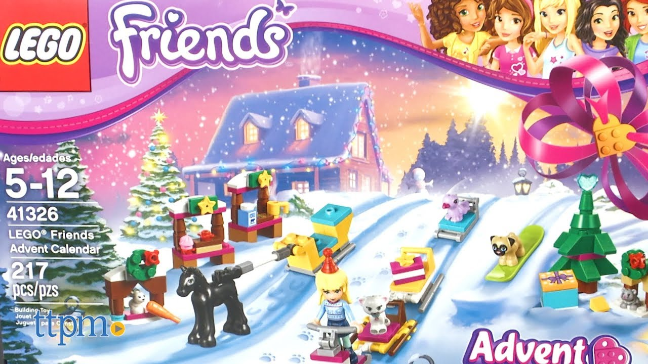 lego friends joulukalenteri 2018 ohjeet 2017 LEGO Friends Advent Calendar from LEGO   YouTube lego friends joulukalenteri 2018 ohjeet