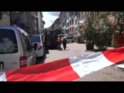 euronews (deutsch): Schweiz: Fieberhafte suche nach dem Kettensägen-Mann
