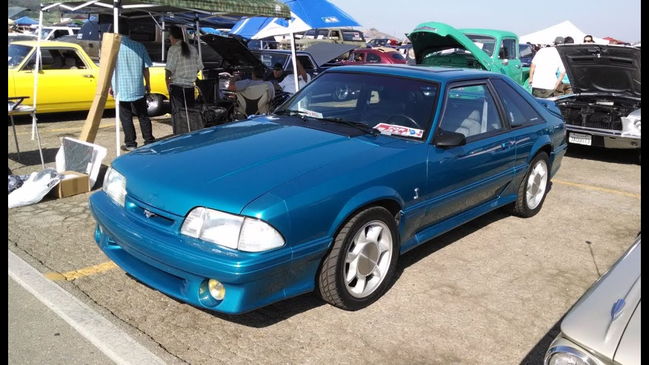 1993 cobra mustang for sale 13 900 pomona swap meet august 2014 mustang connection youtube. Black Bedroom Furniture Sets. Home Design Ideas