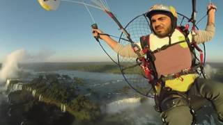 Stunning 360° Paramotor Flight Above Iguazu Falls w/ Rafael Goberna thumbnail
