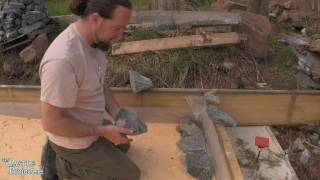 The Carriage House First Wall - Forms Through Stone - pt 1 of 4
