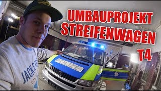 Blaulichtbalken der Hölle 😂 - Update für den Auf Streife T4 Bus ! | ItsMarvin