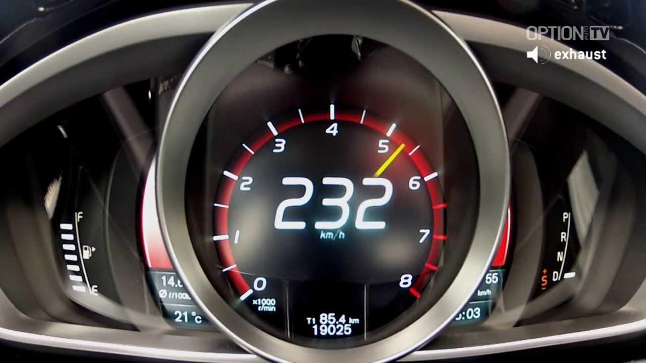 260 kmh en volvo v40 hpc option auto youtube