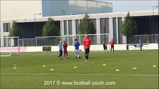 Техника детского футбола