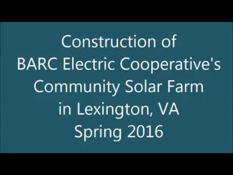 BARC Community Solar - Time Lapse