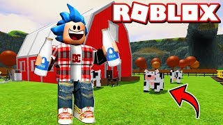 WE FINALLY HAVE VACAS IN THE GREAT! - Roblox: Farmtown