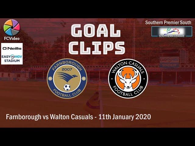 2020-01-11 | Farnborough vs Walton Casuals | Goals