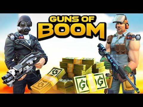Фармлю ЗОЛОТО в ГАНС ОФ БУМ /Guns Of Boom / МИСТЕР КЕКС