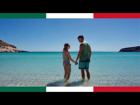 The BEST Beach In The WORLD? (Playa Ensenada Isla Espirítu Santo, La Paz)