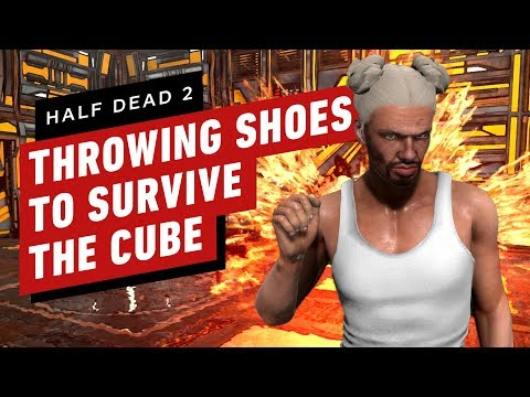 Crazy Death Traps and Shoe Throwing in Half Dead 2