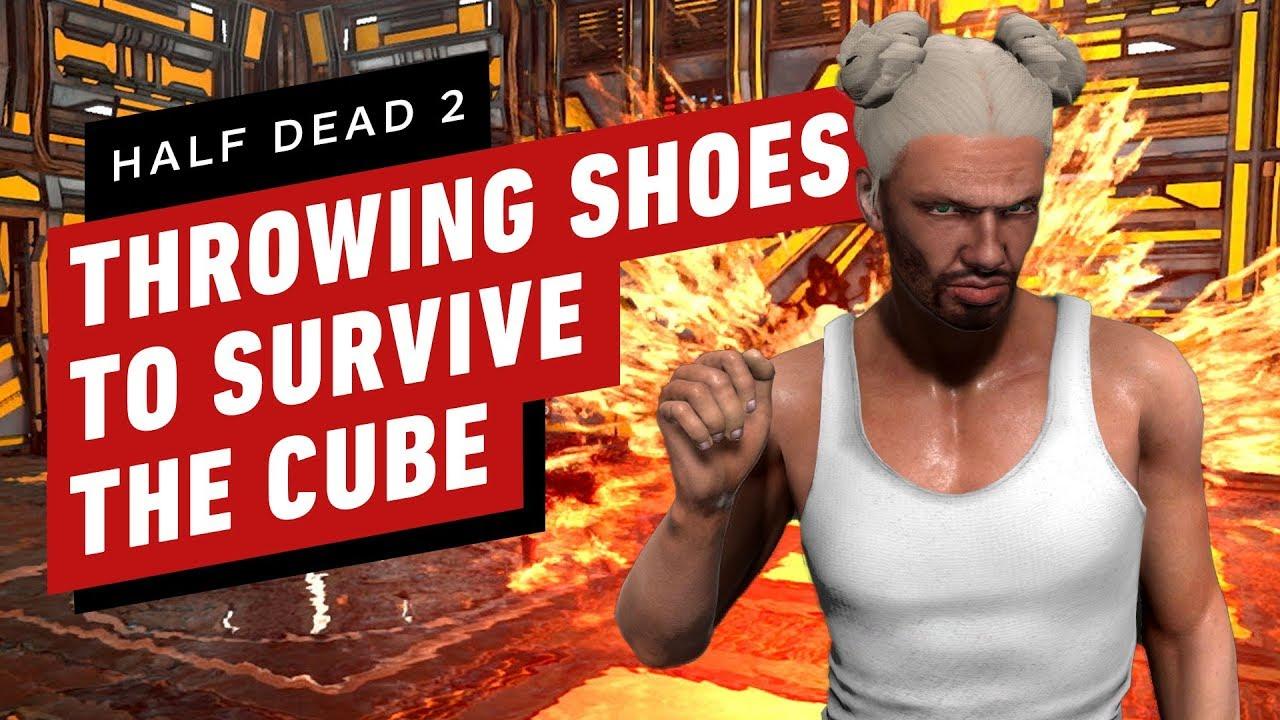 Half Dead 2: Schuhe werfen, um den Würfel zu überleben + video
