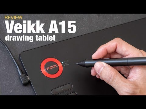 Veikk A15 Budget Drawing Tablet (review)