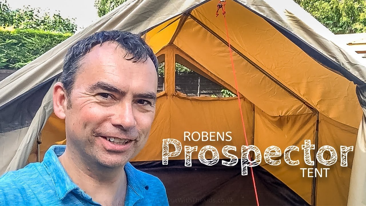 First pitch and test of the Robens Prospector Tent