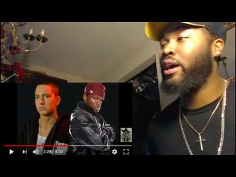 50 Cent Ft. Eminem & Busta Rhymes - Hail Mary [Classic Ja Rule Inc Diss HQ] - REACTION