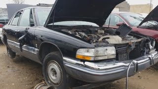 Junk Yard Find: 1991 Buick Park Avenue Ultra
