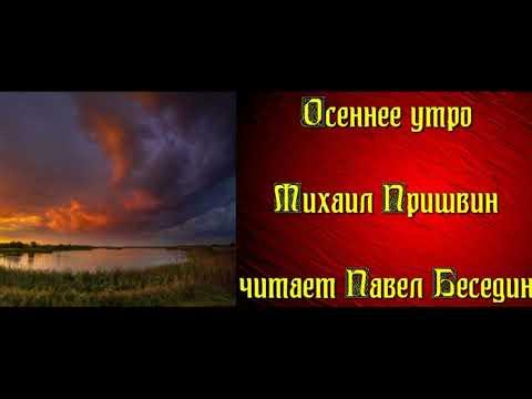 Осеннее утро — Михаил Пришвин — читает Павел Беседин