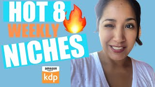 EIGHT Amazon KDP Low Content Book IDEAS That are Lighting Up The Amazon Charts !!