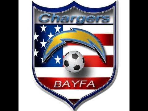 2015 BAYFA Chargers vs NFW Longhorns 4-25-2015