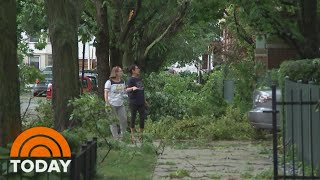 100-mph Wind Storms Slam Chicago And Midwest | TODAY