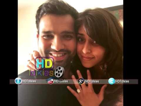 Cricketer Rohit Sharma Gets Engaged To Ritika
