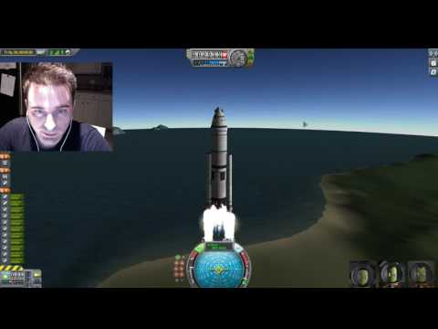 Kerbal Adventures Live Stream : 042 Building the Robert T. Bakker and Raptor Red Lander