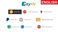 Paytiz - Exchange Bitcoin Instantly to PayPal, Payeer, Bitcoin, Ethereum, Bitcoin Cash