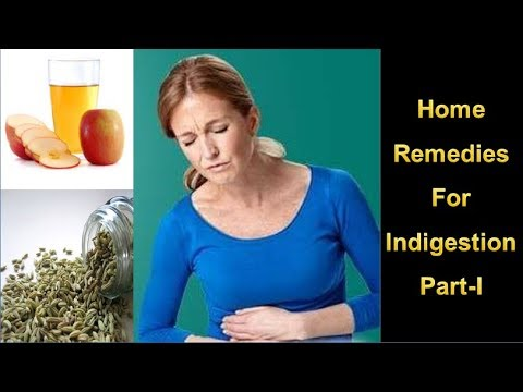 Home Remedies For Indigestion Part-I | Natural Treatment & Home Remedies