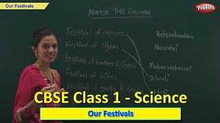 Our Festivals   Class 1 CBSE Science   Science Syllabus Live Videos   Video Training