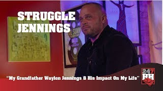 Struggle Jennings - My Grandfather Waylon Jennings & His Impact On My Life (247HH Exclusive)